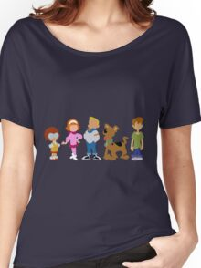 A Pup Named Scooby Doo Gang Women's Relaxed Fit T-Shirt