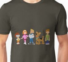 A Pup Named Scooby Doo Gang Unisex T-Shirt