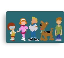 A Pup Named Scooby Doo Gang Canvas Print