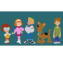 A Pup Named Scooby Doo Gang Photographic Print
