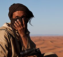 Berber man by Phil Hammond
