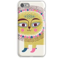 Folk Lion iPhone Case/Skin