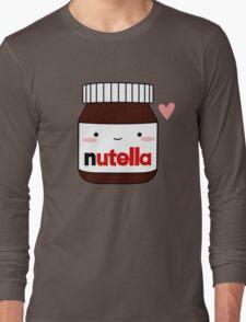 Cute Nutella jar Long Sleeve T-Shirt