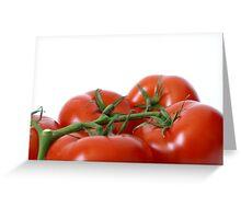 pomodoro rosso Greeting Card
