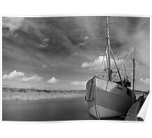 Snape Maltings Quayside  Poster