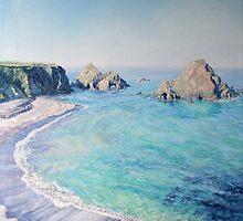 Sea Castle  by Gemma Art