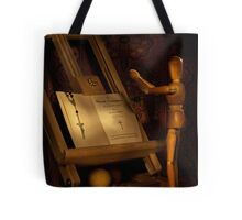 The Conversion of a Wooden Dummy Tote Bag