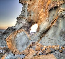 Rock Formation • Kilcunda Beach • Victoria by Frank Moroni