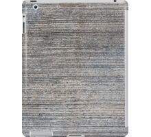 Gorizontal striped concrete texture  iPad Case/Skin