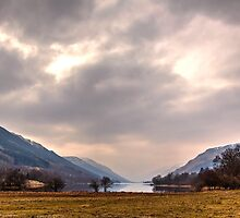 Late Afternoon at Loch Voil by Christine Smith