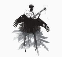 Music makes me fly... Retro - Grunge - Vintage by Denis Marsili - DDTK
