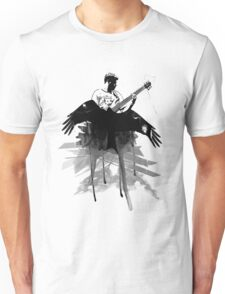 Music makes me fly... Retro - Grunge - Vintage Unisex T-Shirt