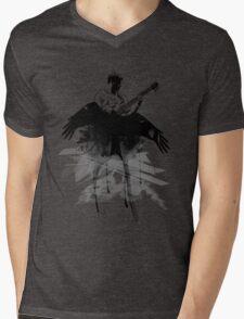 Music makes me fly... Retro - Grunge - Vintage Mens V-Neck T-Shirt