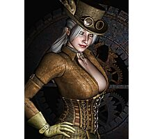 Steamy SteamPunk Photographic Print