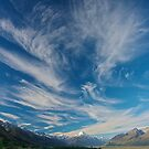 Cloud over Aoraki/Mt. Cook - New Zealand by Phil McComiskey