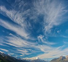 Cloud over Aoraki/Mt. Cook - New Zealand by Phil McComiskey
