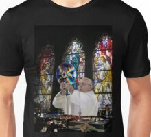 Catholic DJ Earth Pope Francis Turntable EDM Unisex T-Shirt
