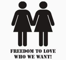 Female - Freedom to Love - Blk Icon by Adolph Hernandez