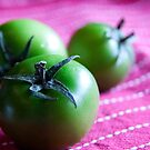 Green Cherry Tomatoes by Hege Nolan