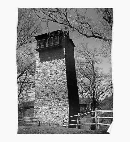 Historic Shot Tower Poster