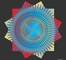 Mandala No. 34 by AlanBennington
