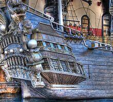 Pirate Ship by Tom Piorkowski