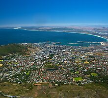 Looking Down - Cape Town, South Africa by Phil McComiskey