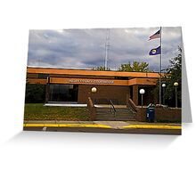 Valley County (Montana) Court House Greeting Card