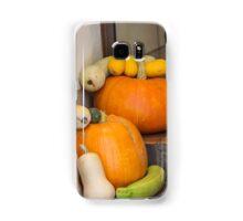 pumpkin in the garden Samsung Galaxy Case/Skin
