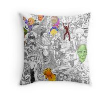 EPIC 07 Sujatha Mohan Throw Pillow