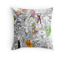 EPIC 08 Ed Meredith Throw Pillow