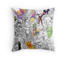 EPIC 11 Leanna Lomanski Throw Pillow