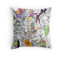 EPIC 13 Jeff Aden Throw Pillow