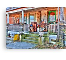 Everything's antique-another view Canvas Print