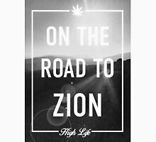 On The Road To Zion Mens V-Neck T-Shirt