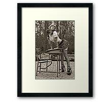 Summer Semester Framed Print