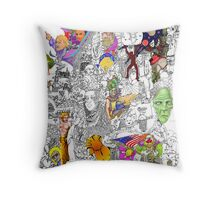 EPIC 17 Angela Pritchard Throw Pillow