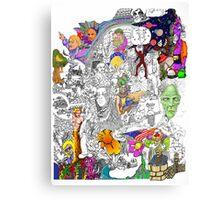 EPIC 18 Colin Trebble Canvas Print