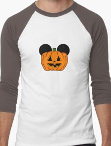Halloween Ears Men's Baseball ¾ T-Shirt
