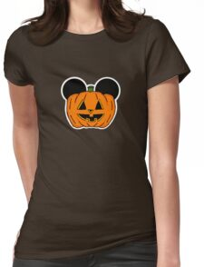 Halloween Ears Womens Fitted T-Shirt