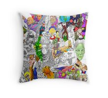 EPIC 19 Patricia McCarty Throw Pillow