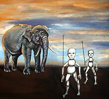 Elephant KIng by chris benice