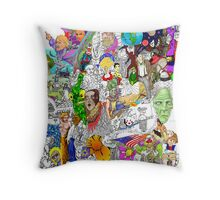 EPIC 24 Gwyn Newcombe Throw Pillow