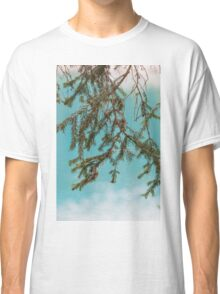 landscape of  blue lake in the mountain Classic T-Shirt