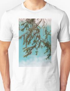 landscape of  blue lake in the mountain T-Shirt