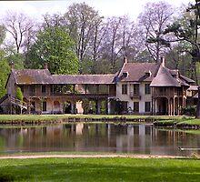 The Hameau, Versailles, Paris, France. by johnrf