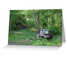 """FORD - """"Found On Road Dead"""" Greeting Card"""