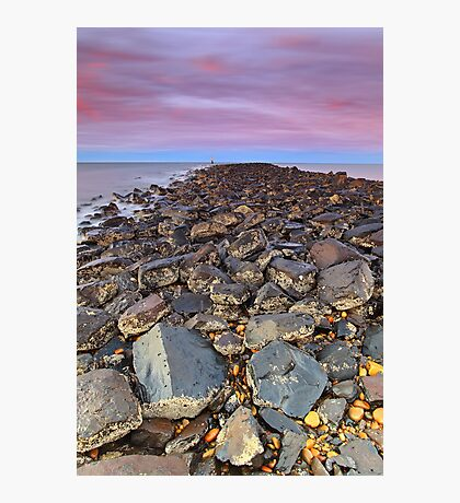 """The Long Rocky Road"" Photographic Print"
