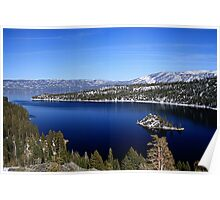 Emerald Bay ~ Lake Tahoe, CA Poster