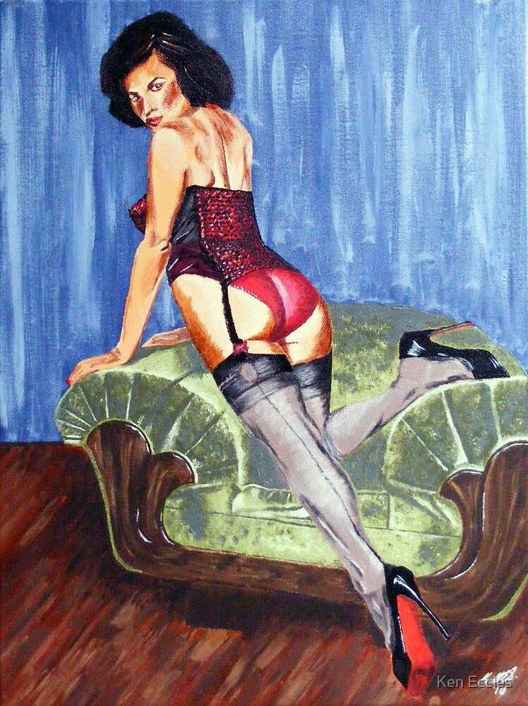 Spanish Pinup by Ken Eccles